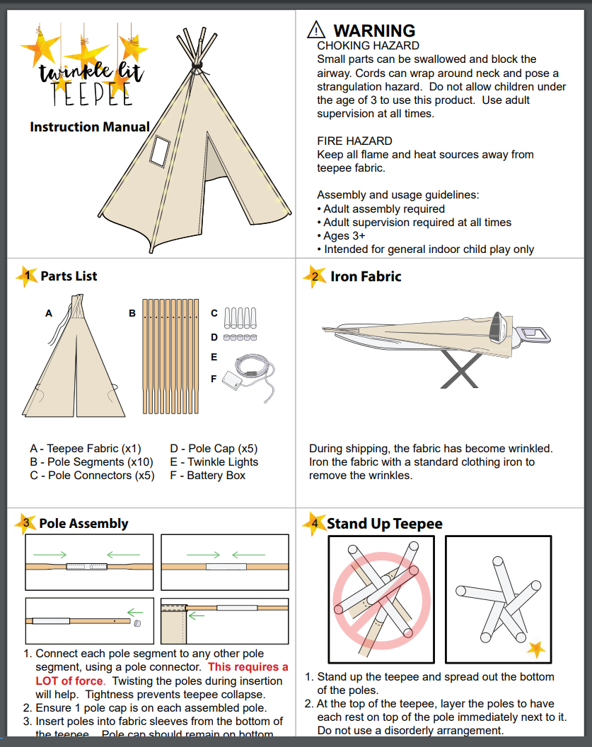 Instruction Manual Printable